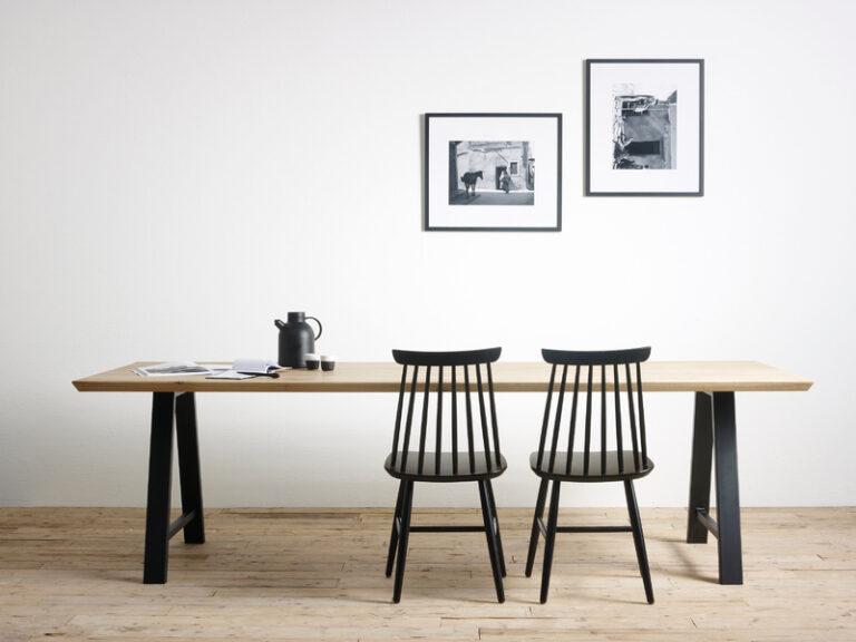 A- gevormde tafelonderstel