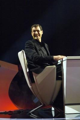 Uri Geller op onze stoel