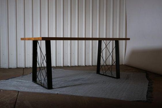 Sierlijk tafelonderstel trapezium